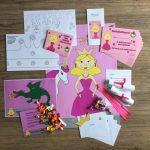 Prinsessen Feestpakket, compleet pakket voor een kinderfeestje.