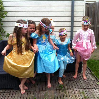 prinsessen feest Superleukefeestjes leuk voor een kinderfeestjes met meisjes.