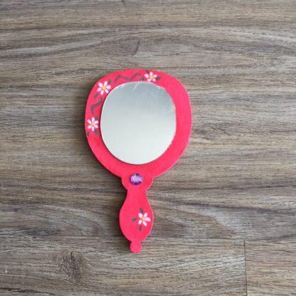 maak deze mooie spiegel op een kinderfeestjes met meisjes