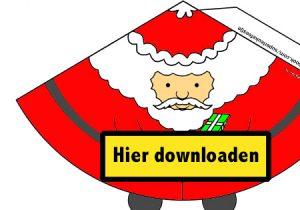 print hier gratis de kerstman knutsel van superleukefeestjes