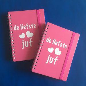juf notitieboekje